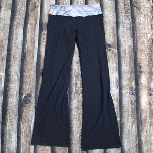 Lululemon Black Reversible Yoga Pants